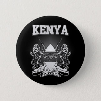 Chapa Redonda De 5 Cm Escudo de armas de Kenia
