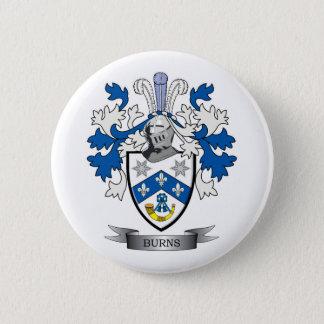 Chapa Redonda De 5 Cm Escudo de armas del escudo de la familia de las