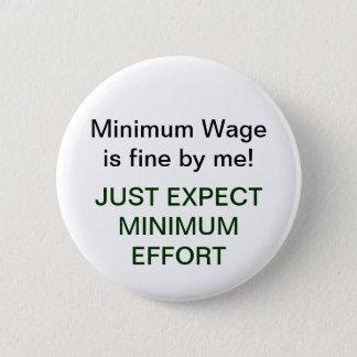 Chapa Redonda De 5 Cm Esfuerzo mínimo de Wage=Minimum