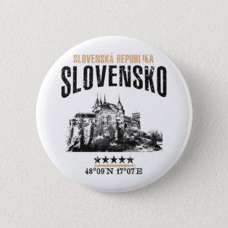 Chapa Redonda De 5 Cm Eslovaquia