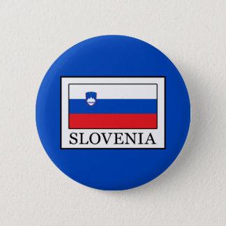 Chapa Redonda De 5 Cm Eslovenia