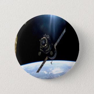 Chapa Redonda De 5 Cm espacio aéreo internacional de la NASA del iss de