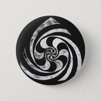 Chapa Redonda De 5 Cm Espiral que tuerce en espiral