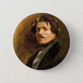 Chapa Redonda De 5 Cm Eugene Delacroix