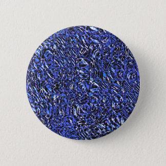 Chapa Redonda De 5 Cm Extracto de cristal azul