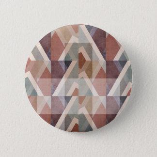 Chapa Redonda De 5 Cm Extracto geométrico texturizado