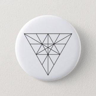 Chapa Redonda De 5 Cm Extracto sagrado minimalista moderno de la