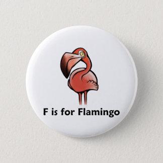 Chapa Redonda De 5 Cm F está para el flamenco