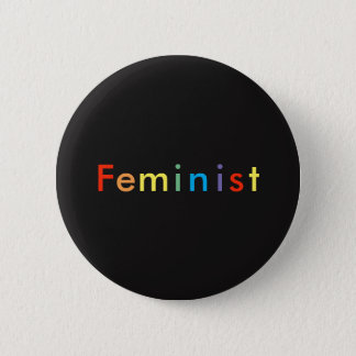 Chapa Redonda De 5 Cm Feminista