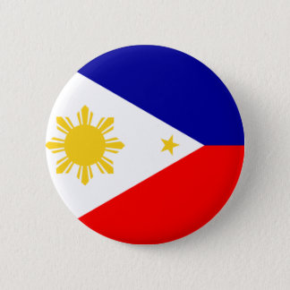 Chapa Redonda De 5 Cm Flag_of_the_Philippines_ (navy_blue) .svg