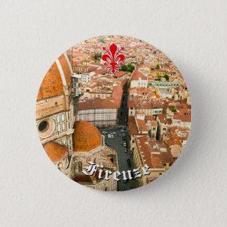 Chapa Redonda De 5 Cm Florencia, Italia (Duomo)