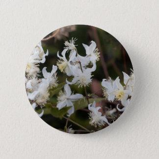 Chapa Redonda De 5 Cm Flores de la alegría del viajero (brachiata del