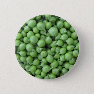 Chapa Redonda De 5 Cm Fondo del guisante verde. Textura de guisantes