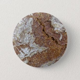 Chapa Redonda De 5 Cm Foto macra de la superficie del pan marrón de Ger