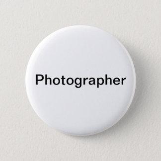 Chapa Redonda De 5 Cm Fotógrafo