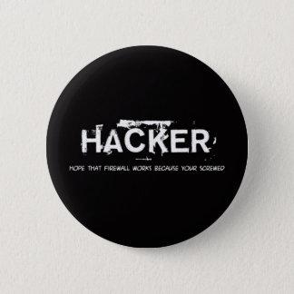 Chapa Redonda De 5 Cm Fun hackers