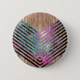 Chapa Redonda De 5 Cm Galón de madera de la nebulosa