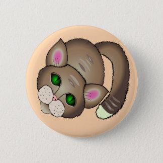 Chapa Redonda De 5 Cm gato lindo