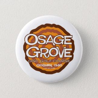 Chapa Redonda De 5 Cm Golf del disco de la arboleda de Osage