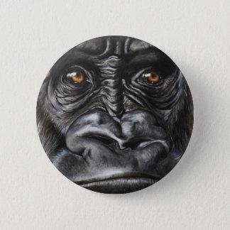 Chapa Redonda De 5 Cm Gorila