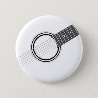 Chapa Redonda De 5 Cm Guitarra