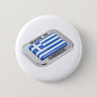 Chapa Redonda De 5 Cm Hecho en la insignia de Grecia