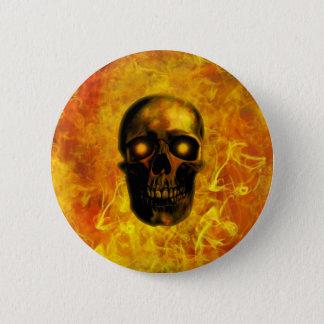 Chapa Redonda De 5 Cm Hellfire