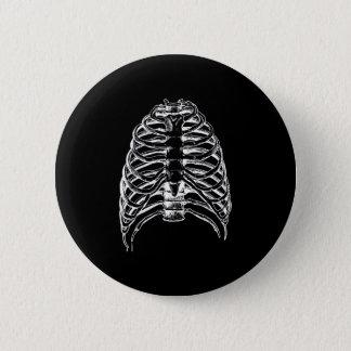 Chapa Redonda De 5 Cm Huesos del tórax