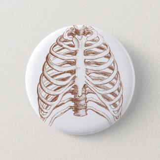 Chapa Redonda De 5 Cm huesos humanos