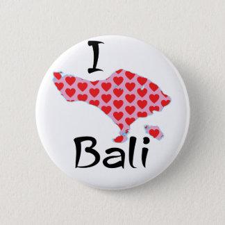 Chapa Redonda De 5 Cm I corazón Bali