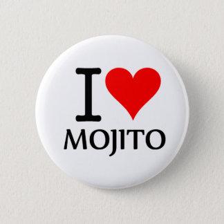 Chapa Redonda De 5 Cm I Love Mojito 2