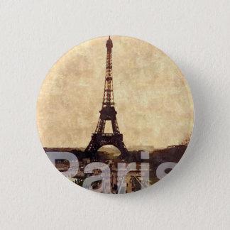 Chapa Redonda De 5 Cm I Love París
