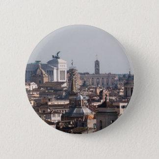Chapa Redonda De 5 Cm I Love Rome Button