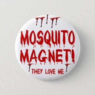 Chapa Redonda De 5 Cm Imán del mosquito