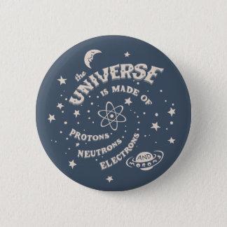 Chapa Redonda De 5 Cm Imbéciles atómicos del universo