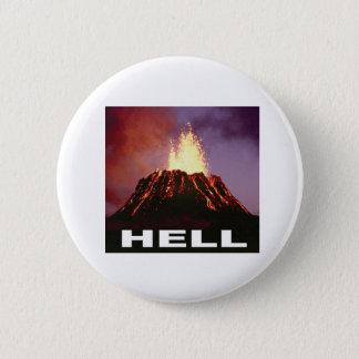 Chapa Redonda De 5 Cm infierno del volcán