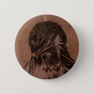 Chapa Redonda De 5 Cm Insignia de Eagle