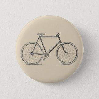 Chapa Redonda De 5 Cm Insignia de la bicicleta del vintage