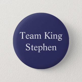Chapa Redonda De 5 Cm Insignia de rey Stephen del equipo
