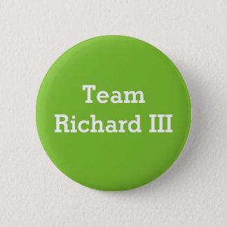 Chapa Redonda De 5 Cm Insignia de Richard III del equipo