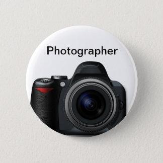 Chapa Redonda De 5 Cm Insignia del fotógrafo