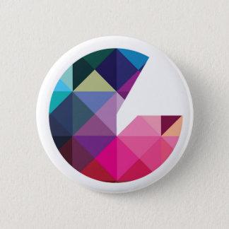 Chapa Redonda De 5 Cm Insignia del logotipo de Geeked