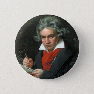 Chapa Redonda De 5 Cm Instinto de Beethoven
