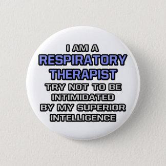 Chapa Redonda De 5 Cm Inteligencia superior respiratoria del terapeuta…
