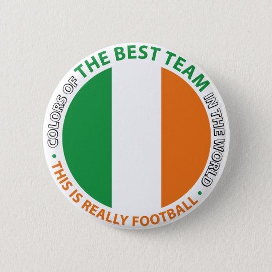 Chapa Redonda De 5 Cm Ireland Irlanda Art Shield