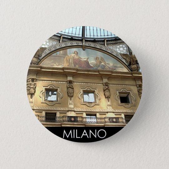 CHAPA REDONDA DE 5 CM ITALIA MILANO