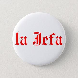 Chapa Redonda De 5 Cm Jefa del La