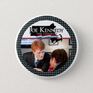 Chapa Redonda De 5 Cm Joe Kennedy para el congreso