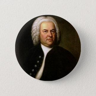Chapa Redonda De 5 Cm Johann Sebastian Bach