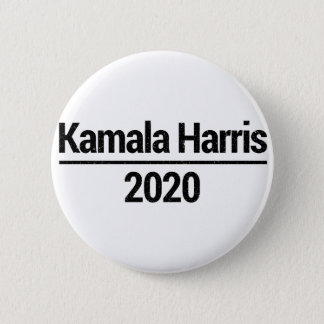 Chapa Redonda De 5 Cm Kamala Harris 2020